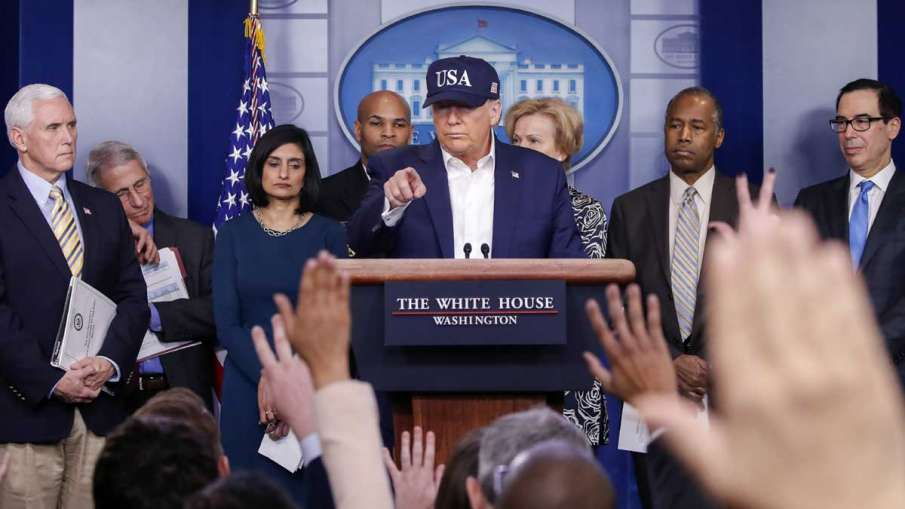Donald Trump test coronavirus, Donald Trump Coronavirus, Trump Coronavirus- India TV Hindi