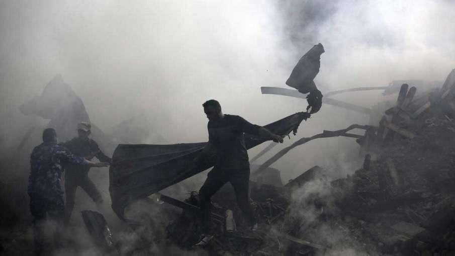 Gaza Fire- India TV Hindi