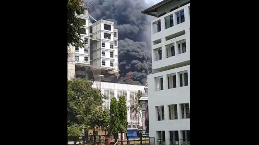 Fire Breakout in Mumbai Girl Hostel- India TV Hindi