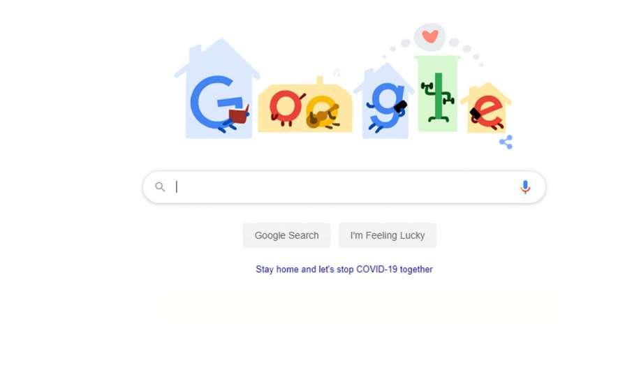 google doodle, coornavirus- India TV Hindi