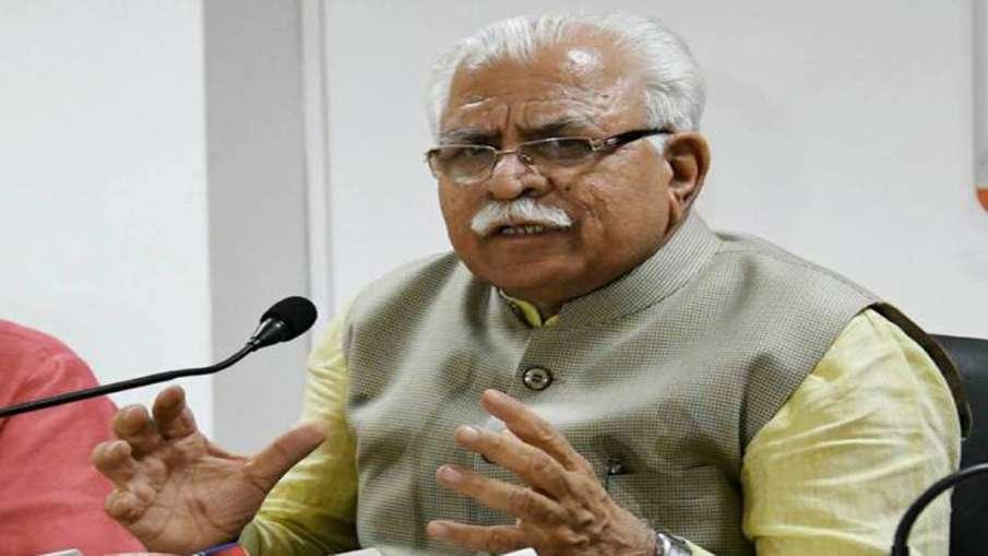 हरियाणा के मुख्यमंत्री मनोहर लाल खट्टर- India TV Hindi