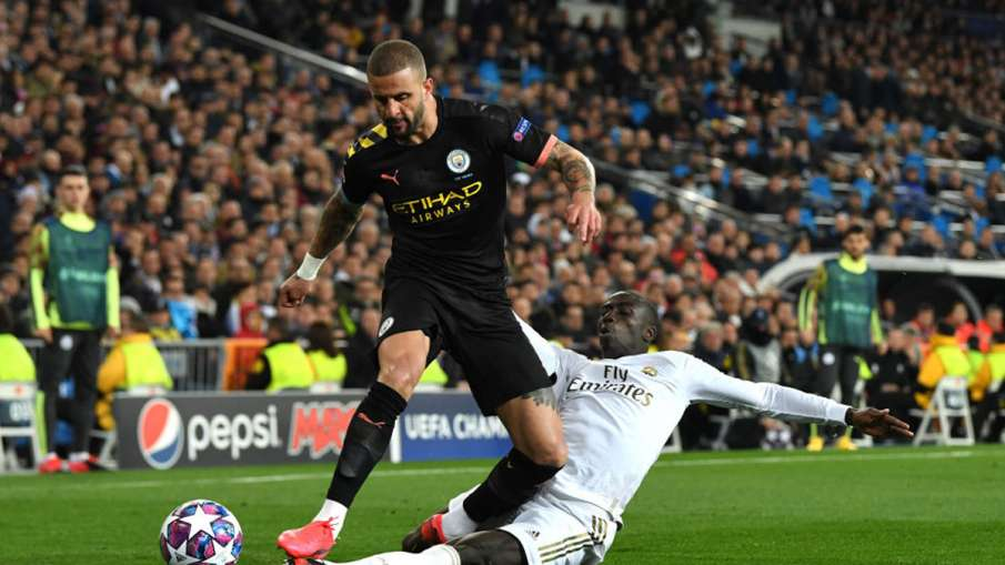 Manchester City defender Kyle Walker violates lockdown rules by giving party at home- India TV Hindi