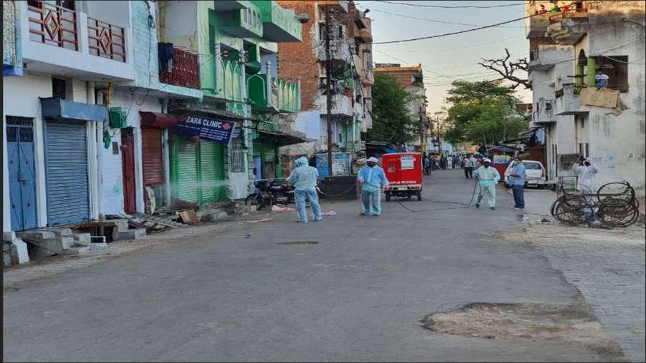 Coronavirus: लखनऊ का सदर बाजार इलाका सील, तबलीगी जमात के 12 लोगों की रिपोर्ट पॉजिटिव- India TV Hindi