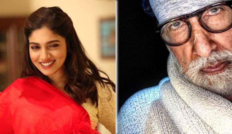 भूमि पेडनेकर ने अमिताभ बच्चन की पोस्ट पर किया कमेंट- India TV Hindi