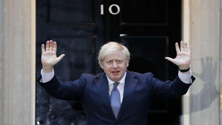 Britain's Prime Minister Boris Johnson - India TV Hindi