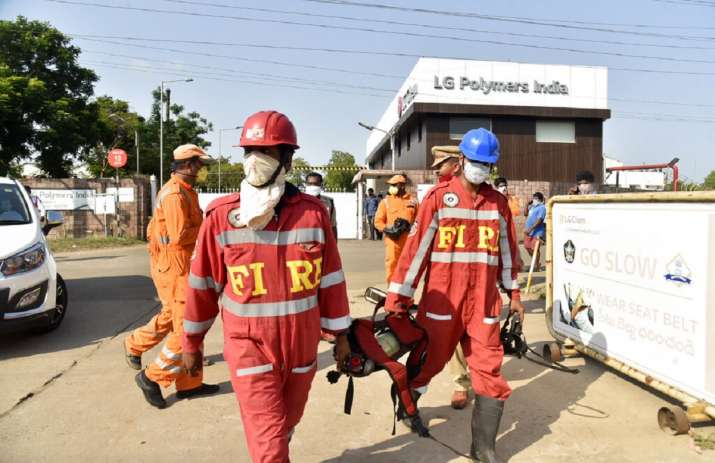 Vizag Gas Leak: LG Chemical factory was preparing to reopen post lockdown, says NDRF chief- India TV Hindi