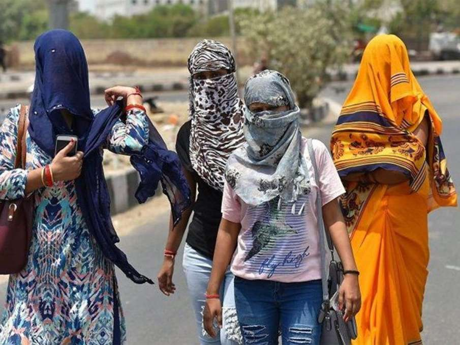 Heat wave: Red alert for Delhi and most northern states; IMD asks people not to step out between 1-5- India TV Hindi