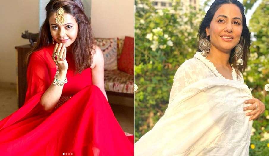 देवोलीना भट्टाचार्जी और हिना खान- India TV Hindi