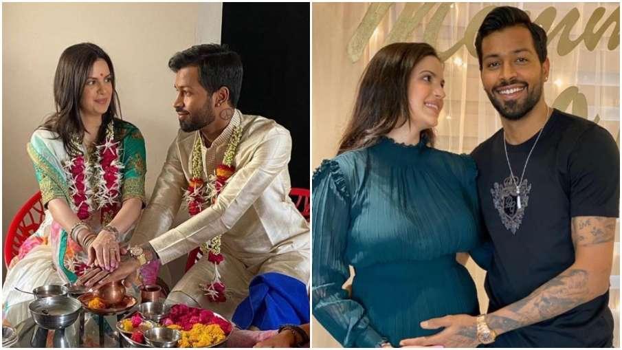 हार्दिक पंड्या, गर्लफ्रेंड नताशा, लॉकडाउन में की शादी- India TV Hindi