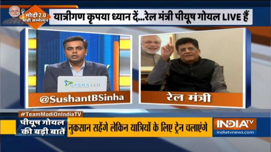 Minister of Railways of India Piyush Goyal on migrant workers- India TV Hindi
