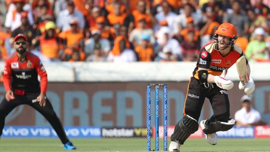 David Warner IPL 2020 Sunrisers Hyderabad Captain Kane Williamson - India TV Hindi