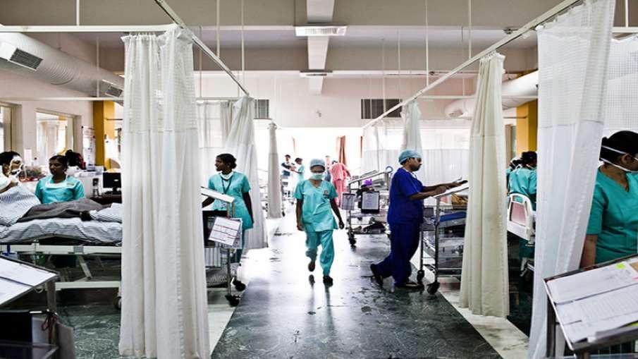 Coronavirus suspect tried to escape from Delhi's RML hospital- India TV Hindi