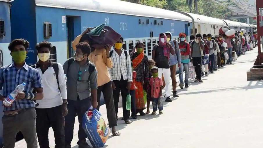 First Special Train Carrying Migrant Workers Leaves From Delhi For Madhya Pradesh- India TV Hindi