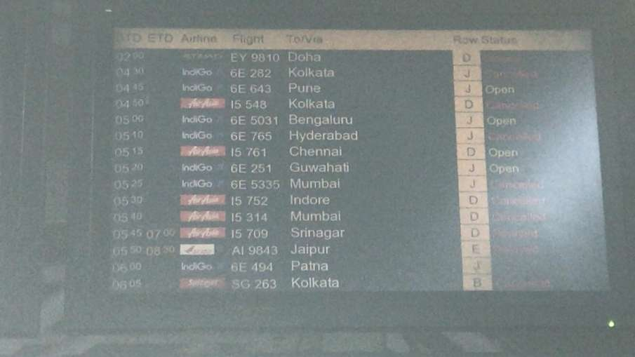 Domestic Flight service resumes from Monday these state give permission - India TV Hindi