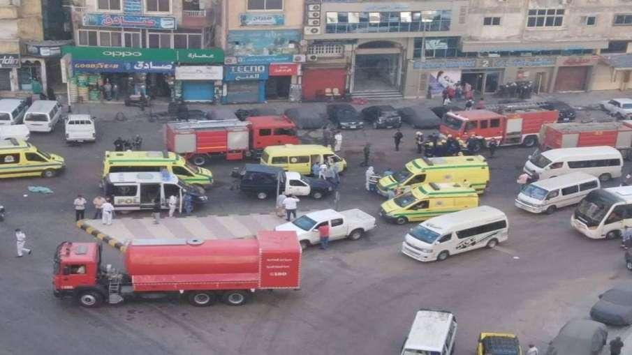 Egypt hospital fire kills 7 coronavirus patients- India TV Hindi
