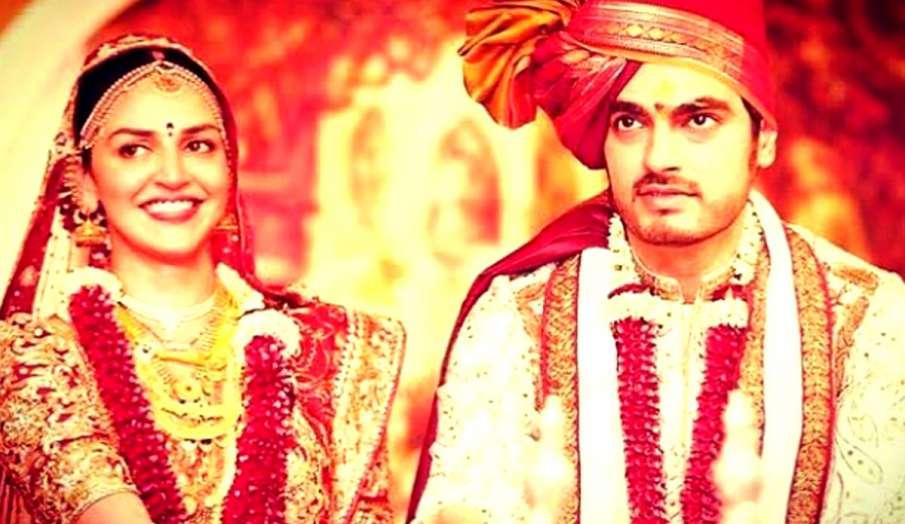 ईशा देओल ने वेडिंग एनिवर्सिरी पर शेयर की ये फोटो- India TV Hindi