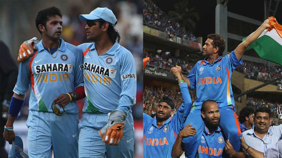 Like Sachin, Sreesanth wants to see Dhoni on the shoulders of players after winning the World Cup- India TV Hindi