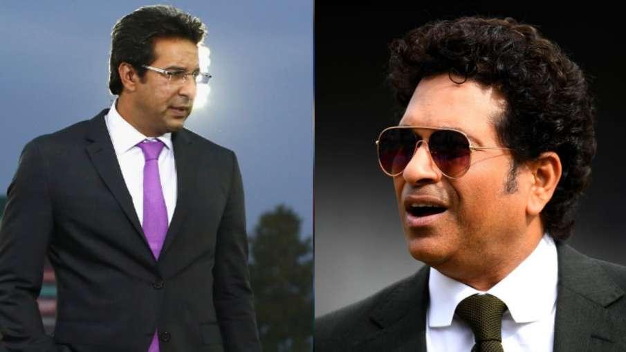 Wasim Akram and Sachin Tendulkar- India TV Hindi