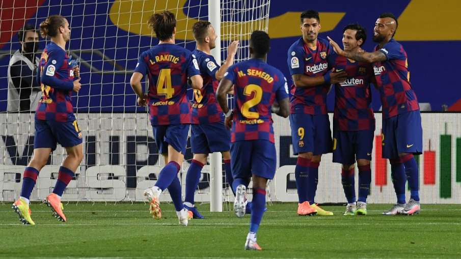 Barcelona beat Leganes with a goal from Lionel Messi- India TV Hindi