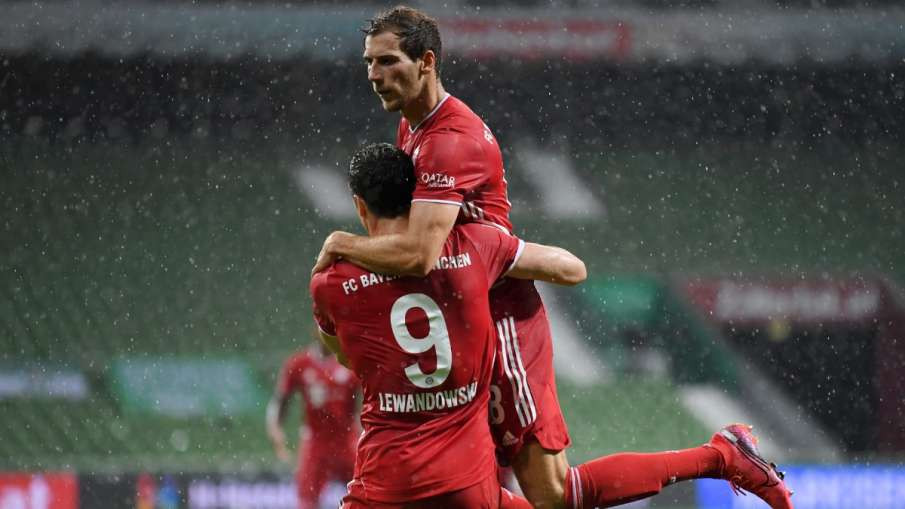 Bayern Munich won the Bundesliga title for the eighth time in a row by beating Werder Bremen- India TV Hindi