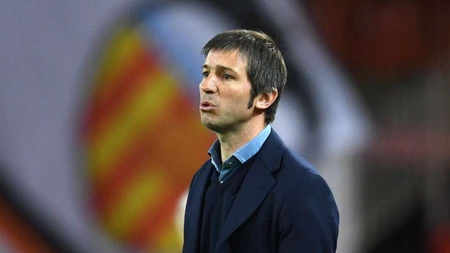 Valencia removes head coach Albert Celades, Vorro Gonzalez gets responsibility- India TV Hindi