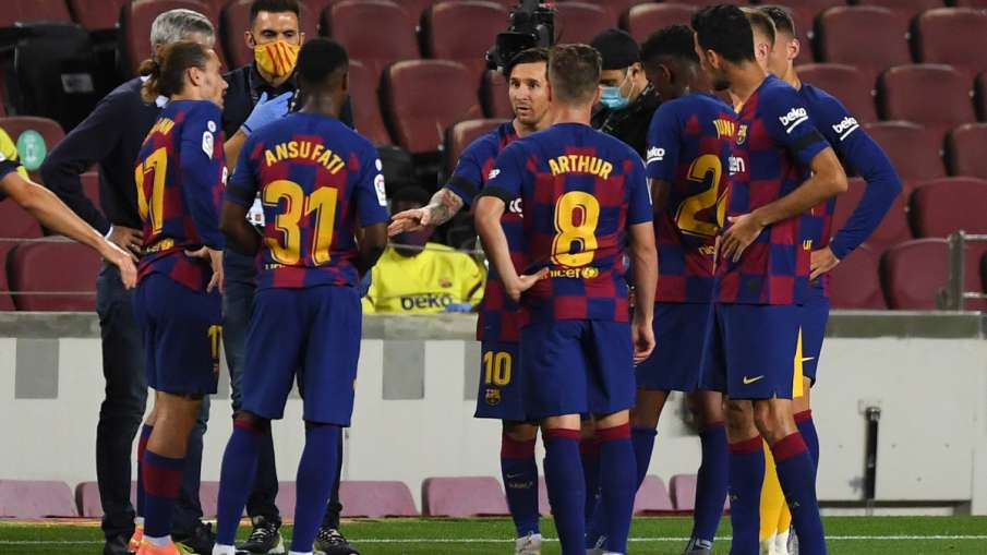 Barcelona, corona positive, Football, sports- India TV Hindi