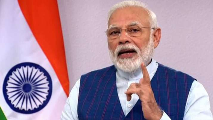 PM Modi to address Nation on 4PM on Tuesday - India TV Hindi