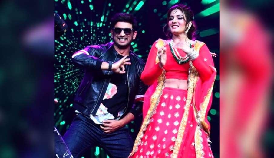 रवीना टंडन ने सुशांत के साथ शेयर की फोटो- India TV Hindi