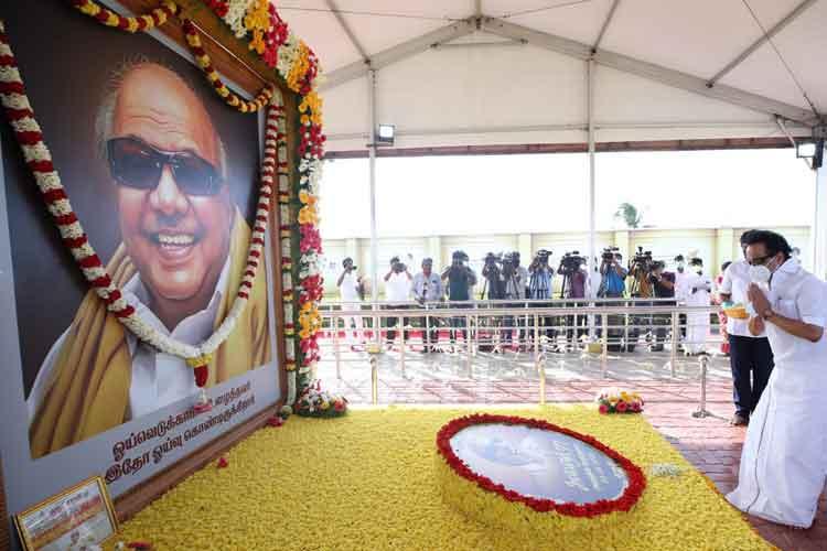 करूणानिधि का स्मारक...- India TV Hindi
