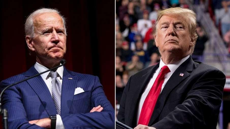 Joe Biden, Donald Trump, Joe Biden Donald Trump, Donald Trump- India TV Hindi