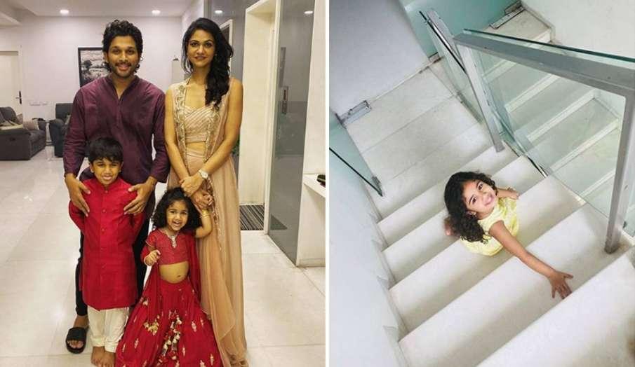 अल्लू अर्जुन ने शेयर की बेटी की फोटो- India TV Hindi