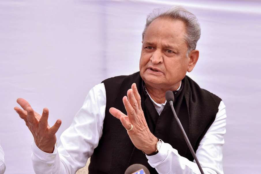 CM Ashok Gehlot phones PM Narendra Modi, discusses Governor Kalraj Mishra's role- India TV Hindi