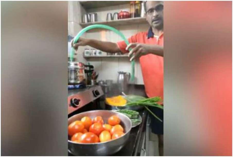 Indian man jugaad- India TV Hindi