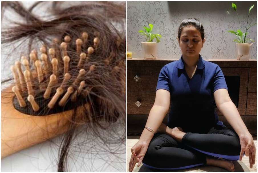 Hair Fall and Prithvi Mudra - India TV Hindi