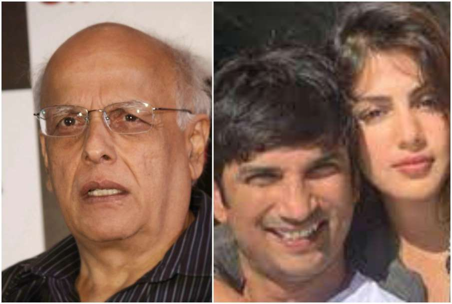 Mahesh Bhatt, Sushnat and Rhea - India TV Hindi
