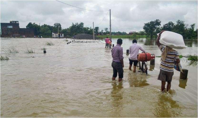 Assam flood misery worsens as toll nears 90; rain-related incidents kill 5 in UP, U'khand- India TV Hindi