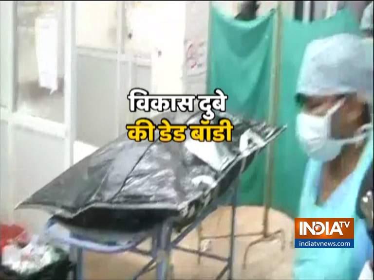 कोरोना परीक्षण दुबे की शव यात्रा से आगे निर्धारित किया गया था- इंडिया टीवी हिंदी