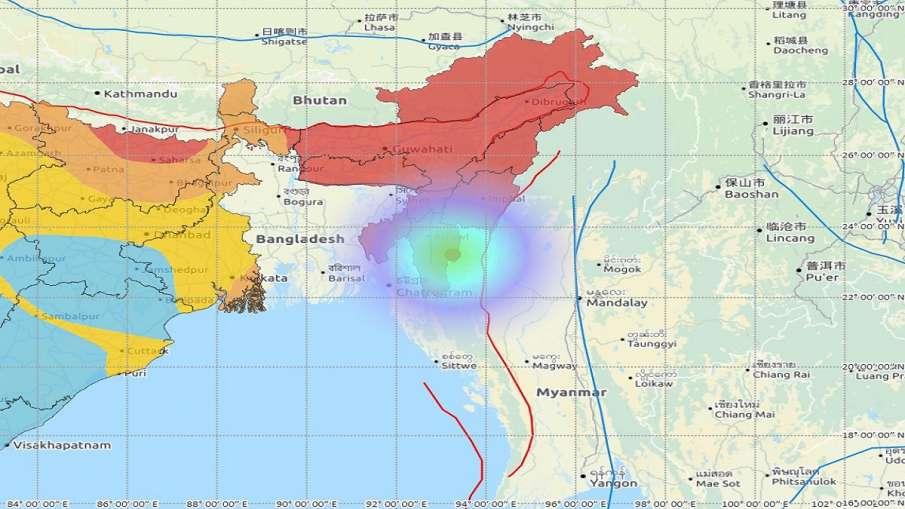 Earthquake in Mizoram । मिजोरम में भूकंप, रिक्टर स्केल पर तीव्रता 4.4- India TV Hindi