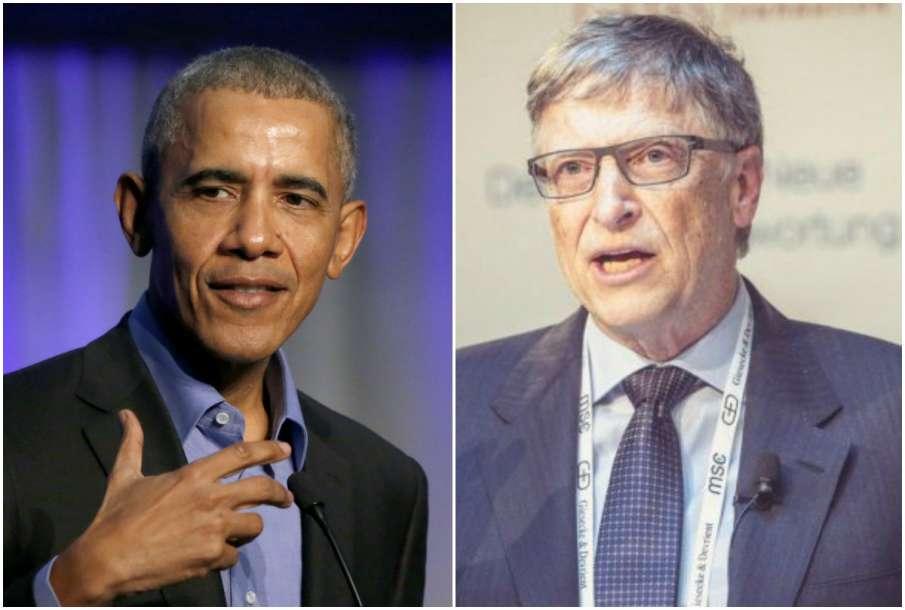 Barack Obama and Bill Gates- India TV Hindi