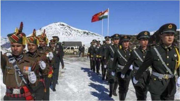 Chinese PLA removed their temprory structure in Patrol...- India TV Hindi