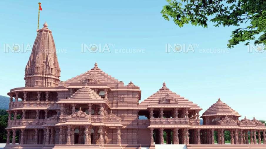 Ram Mandir New design plan exclusive images- India TV Hindi
