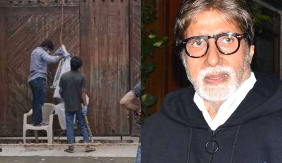 Amitabh Bachchan bungalow Jalsa non containment zone - India TV Hindi