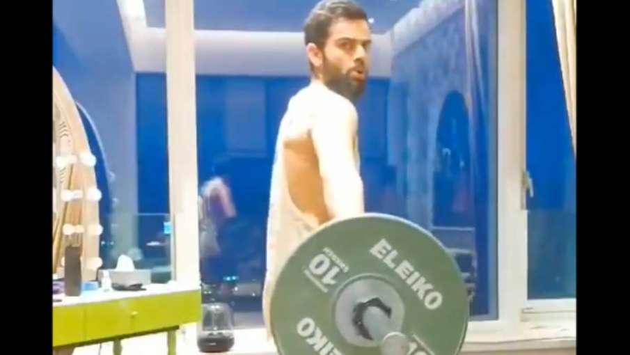 Virat Kohli, gym, exercise, Virat kohli Power santch, cricket, sports, india- India TV Hindi