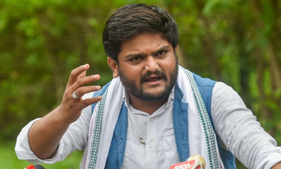 Hardik Patel appointed Working President of Gujarat Pradesh Congress Committee- India TV Hindi