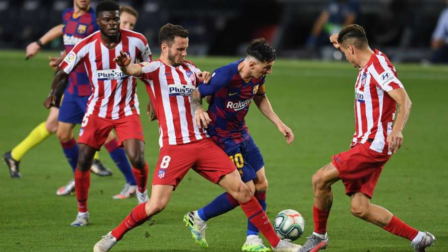 La Liga: Lionel Messi's 700th career goal, Barcelona hold Atlético on draw- India TV Hindi