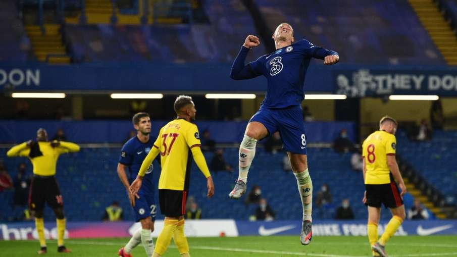 Chelsea beat Watford 3–0 with a brilliant performance from Ross Barkley- India TV Hindi
