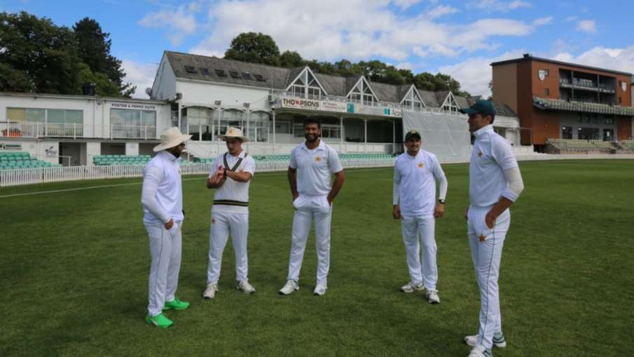 Pakistan team will play match on tour of England by putting logo of Shahid Afridi Foundation- India TV Hindi