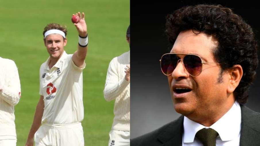 Sachin Tendulkar, Stuart Broad, england, west indies , cricekt, test match, 500 wickets in Test- India TV Hindi