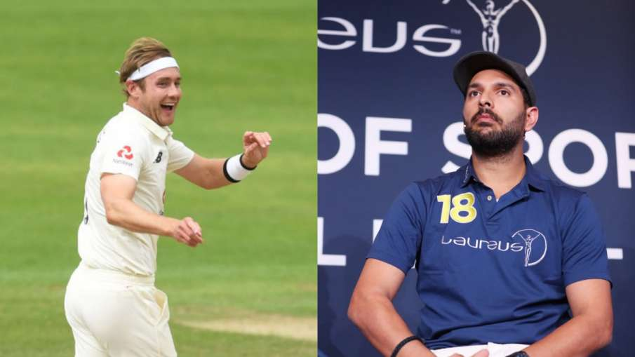 Yuvraj Singh praises Stuart Broad fiercely, says this against 6 sixes against him- India TV Hindi