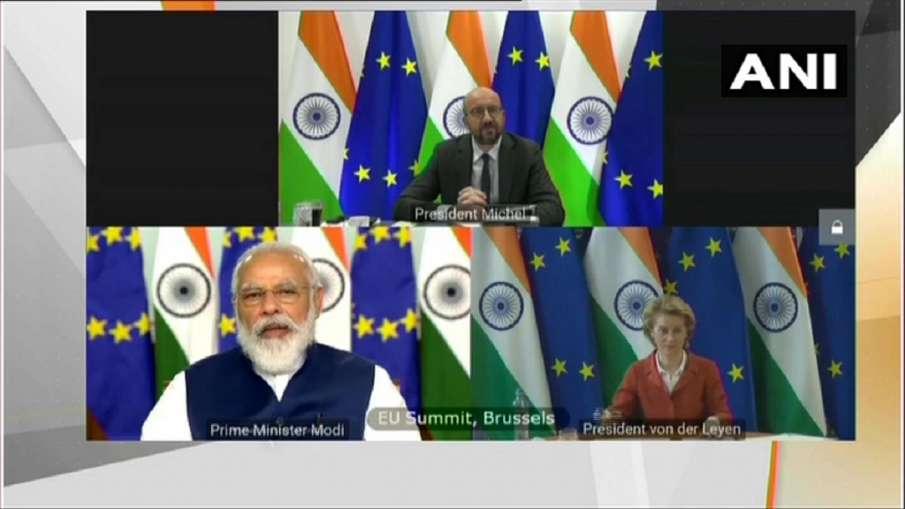India-EU Summit में पीएम मोदी ने कहा-'हमारी सहभागिता विश्व शांति और स्थिरता के लिए उपयोगी'- India TV Hindi